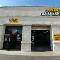 Photo taken at Midas Auto System Experts by Amit N. on 6/14/2016