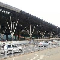 Photo taken at Kempegowda International Airport (BLR) by Prashant P. on 4/5/2013