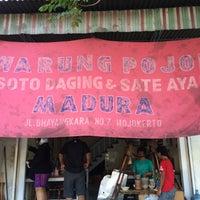 "Photo taken at Warung Pojok ""Soto Daging"" HM. Bachri by Maximillian C.D.Adi on 8/30/2015"