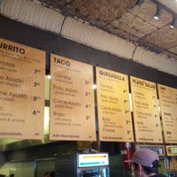 Photo taken at Dos Toros Taqueria by Andrew C. on 11/8/2012