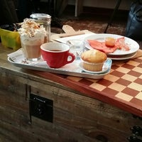 Photo taken at Inspire Coffee Company by Arie B. on 1/2/2014