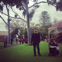 Photo taken at Unley Soldier's Memorial Gardens by Lachlan C. on 8/25/2013