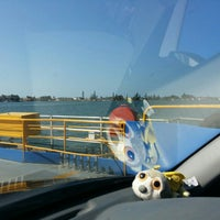 Photo taken at Burns Point Ferry by Renee H. on 10/4/2015