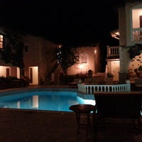 Photo taken at Ino Village Hotel Samos by Peter V. on 9/5/2013
