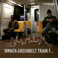 Photo taken at WMATA Green Line Metro by Riley L. on 3/31/2015