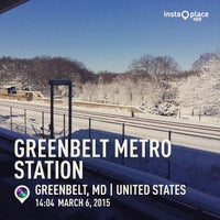 Photo taken at WMATA Green Line Metro by Riley L. on 3/6/2015