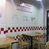 Photo taken at 5 guys by Steve W. on 11/10/2014