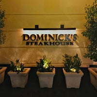 Photo taken at Dominick's Steakhouse by Christian D. on 7/24/2013