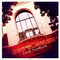 Photo taken at Théâtre Marigny by Blanc on 5/28/2013
