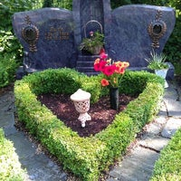 Photo taken at Ostfriedhof by Dirk K. on 7/6/2013