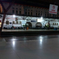 Photo taken at Pasar Senen Station by Sami R. on 9/14/2012
