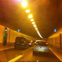 Photo taken at Vliettunnel (Sijtwendetunnel) by Fiona S. on 10/30/2012