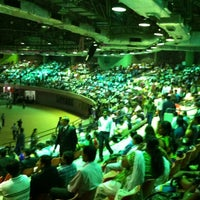 Photo taken at Indoor Stadium by Karan P. on 3/17/2013
