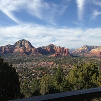 Photo taken at Sky Ranch Lodge Scenic View Area by Heather M. on 3/26/2013