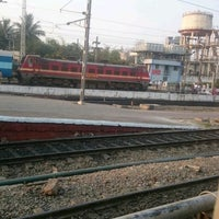 Photo taken at Begumpet Railway Station by Aravind D. on 2/15/2017
