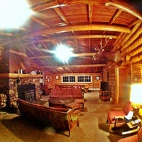 Photo taken at Double Arrow Lodge by Seattle D. on 3/8/2013