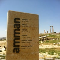 Photo taken at Amman Citadel by Seattle D. on 4/28/2013