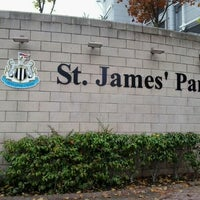 Photo taken at St James' Park by Anne B. on 10/25/2012