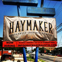Photo taken at Haymaker by Pauly M. on 8/10/2013