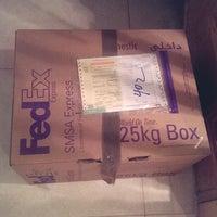 Photo taken at FedEx by Amjad A. on 12/10/2013