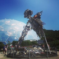 Photo taken at The Eden Project by Jon T. on 7/16/2013