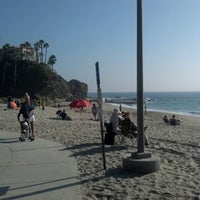 Photo taken at Aliso Beach by Tony B. on 11/3/2012