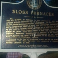 Photo taken at Sloss Furnaces National Historic Landmark by Sonya B. on 6/9/2013