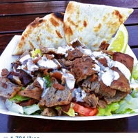 Photo taken at Gyros On Wheels by Marc on 4/4/2015
