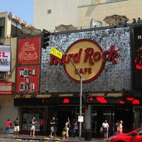 Photo taken at Hard Rock Cafe Hollywood on Hollywood Blvd by Biosbook Social Network w. on 6/30/2013