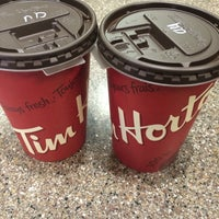 Photo taken at Tim Hortons by Louise E. on 4/17/2016