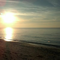 Photo taken at Silver Beach by Carolyn J. on 11/17/2012