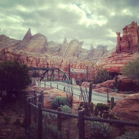 Photo taken at Radiator Springs Racers by Eric L. on 12/12/2012