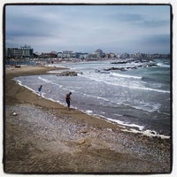 Photo taken at Spiaggia di Cattolica by Gio S. on 6/28/2013