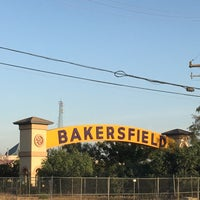 Photo taken at The Bakersfield Sign by Anthony J. on 10/6/2016