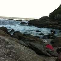 Photo taken at Praia Das Conchas by Flávio P. on 11/18/2012
