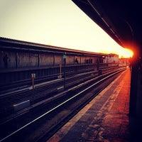 Photo taken at MTA Subway - Rockaway Blvd (A) by Matt G. on 2/18/2013