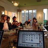 Photo taken at cafe dinner Lush Life by RIKO N. on 9/29/2014