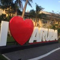 "Photo taken at ""I Love Aruba"" Sign by Fabián M. on 2/17/2017"