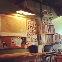 Photo taken at Sad cafe by Yu-Jiao L. on 4/16/2014