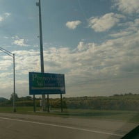Photo taken at New York - Pennsylvania State Line by Katia B. on 10/19/2015