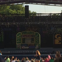 Photo taken at Shawnee Mission Theater In The Park by John E. on 6/28/2014