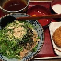 Photo taken at 金比羅製麺 京都大山崎店 by Tomochy7 T. on 4/29/2015