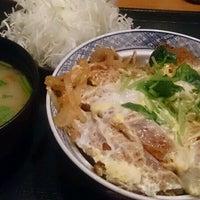 Photo taken at とんかつ 玉藤 清田店 by Osamu I. on 9/6/2016