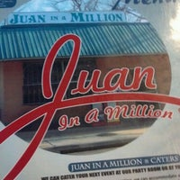 Photo taken at Juan in a Million by Ryan S. on 3/18/2013