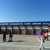 Photo taken at Nevşehir Kapadokya Airport (NAV) by Zeynep on 4/27/2013