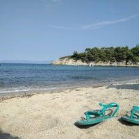 Photo taken at Armenistis Beach by Aneta G. on 9/1/2016