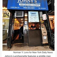 Photo taken at Johny's Luncheonette by Dez and Johny P. on 10/21/2013