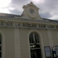 Photo taken at Gare SNCF de La Roche-sur-Yon by J.D. C. on 5/31/2016