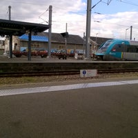 Photo taken at Gare SNCF de La Roche-sur-Yon by J.D. C. on 10/20/2016