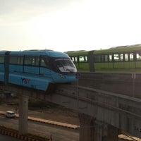 Photo taken at Mumbai Monorail Depot Building by Zhivaan R. on 2/17/2014
